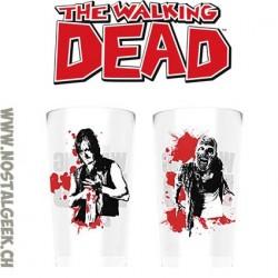 The Walking Dead Set de 2 Verres Daryl Dixon Vs Walker