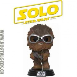 FunkoPop Star Wars Han Solo Movie Chewbacca with Goggles