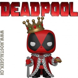 Funko Pop Marvel King Deadpool Exclusive Vinyl Figure