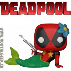 Funko Pop Marvel Mermaid Deadpool Edition Limitée