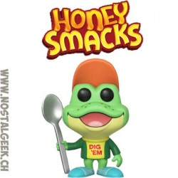 Funko Pop Ad Icons Kellog's Honey Smacks Dig em' Frog Vinyl Figure