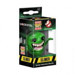 Pop Pocket Keychain Ghostbusters Slimer