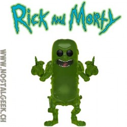 Funko Pop Rick and Morty Pickle Rick (Translucent) Edition Limitée