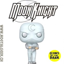 Funko Pop Marvel Moon Knight Phosphorescent GITD Exclusive Vinyl Figure