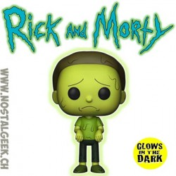 Funko Pop Rick et Morty - Toxic Morty Phosphorescent Edition Limitée