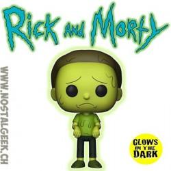 Funko Pop Rick et Morty - Toxic Morty GITD Exclusive Vinyl Figure