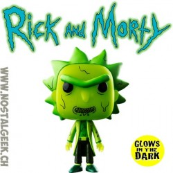 Funko Pop Rick et Morty - Toxic Rick Phosphorescent Edition Limitée
