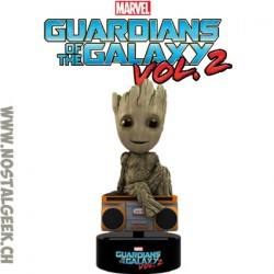 Neca 15 cm Marvel Groot Solar Powered Bobble Head Body Knocker