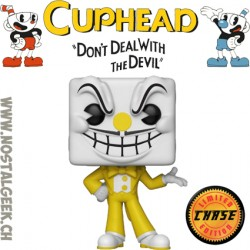 Funko Pop Games Cuphead King Dice Chase Exclusive Vinyl Figure