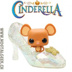 Funko Pop Disney Cendrillon - Gus Gus In Slipper Edition Limitée