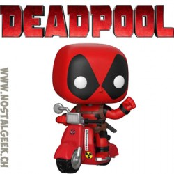 Funko Pop Marvel Bedtime Deadpool Vinyl Figure