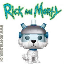 Funko Pop Cartoons Rick and Morty Snowball Vinyl Figure