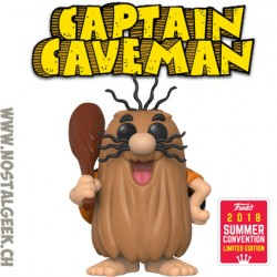 Funko Pop Animation SDCC 2018 Captain Caveman Edition Limitée