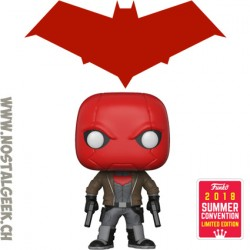 Funko Pop SDCC 2018 DC Red Hood Edition Limitée