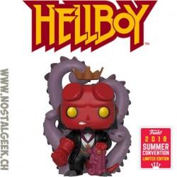 Funko Pop SDCC 2018 Comics Hellboy in Suit Edition Limitée