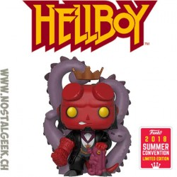 Funko Pop SDCC 2018 Comics Hellboy in Suit Edition Limitée