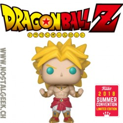 Funko Pop Animation SDCC 2018 Dragon Ball Z Super Saiyan Broly Edition Limitée