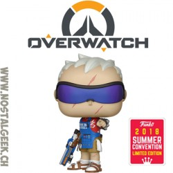 Funko Pop Games SDCC 2018 Overwatch Soldier:76 (Grillmaster) Edition Limitée