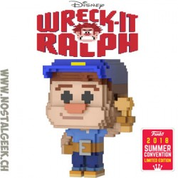 Funko Pop 8-bit SDCC 2018 Wreck-it Ralph - Fix-It Felix Edition Limitée