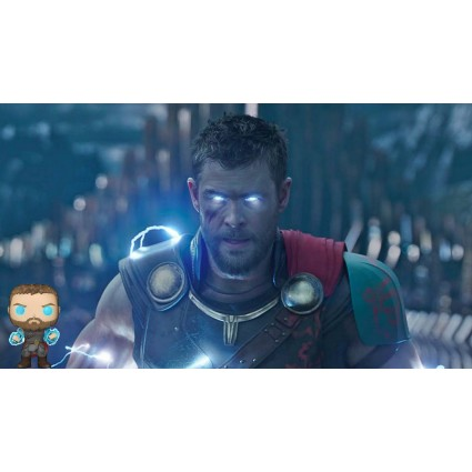 Toy Funko Pop Marvel Sdcc 2018 Thor Ragnarok Thor Odin Force Excl