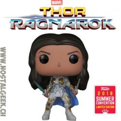 Funko Pop Marvel SDCC 2018 Thor Ragnarok Valkyrie (Battle Outfit) Edition Limitée