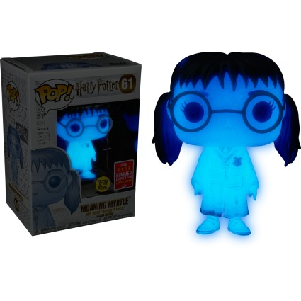 Toy Funko Pop Harry Potter Sdcc 2018 Moaning Myrtle Translucent G