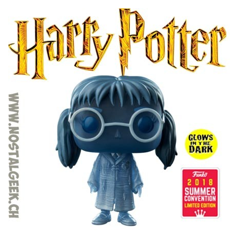 Toy Funko Pop Harry Potter Sdcc 2018 Moaning Myrtle Translucent