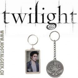 "Twilight New Moon Set de 2 Porte-clés ""Edward and Lion"""