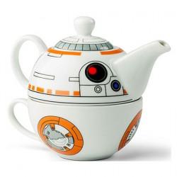 Star Wars The Force Awaken Théière et tasse Set BB-8