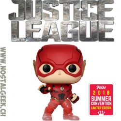 Funko Pop DC SDCC 2018 Justice League Flash (Running) Edition Limitée