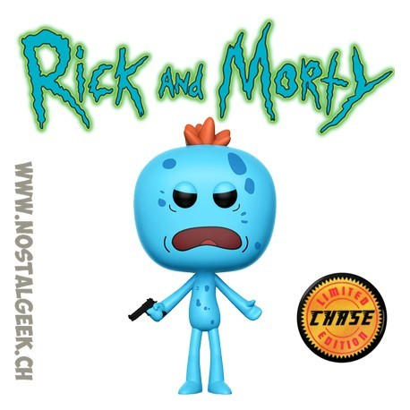 b82054f8364 Funko Pop Rick et Morty Mr Meeseeks (Gun) Chase Exclusive Vinyl Figure