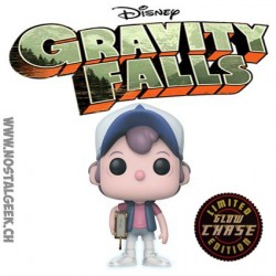 Funko Pop! Disney Gravity Falls Dipper Pines Phosphorescent Chase Edition Limitée