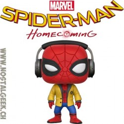 Funko Pop! Marvel Spider-Man: Homecoming (Headphones) Vinyl Figure