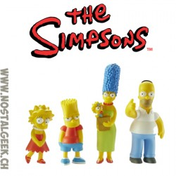 The Simpsons Family Collectible Figures Pack