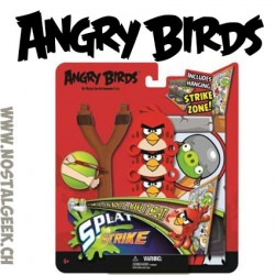 Angry Birds Lanceur + 3 Têtes Plates Splat + 1 Cible Angry Birds