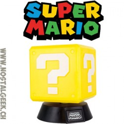 Lampe Super Mario Question Block 3D
