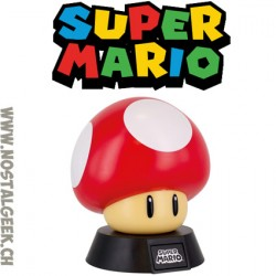 Lampe 3D Nintendo Super Mario Super Mushroom