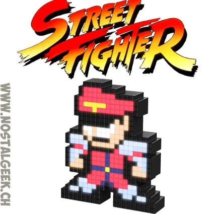 Toy Capcom Street Fighter M  Bison Pixel Pals Light up geek