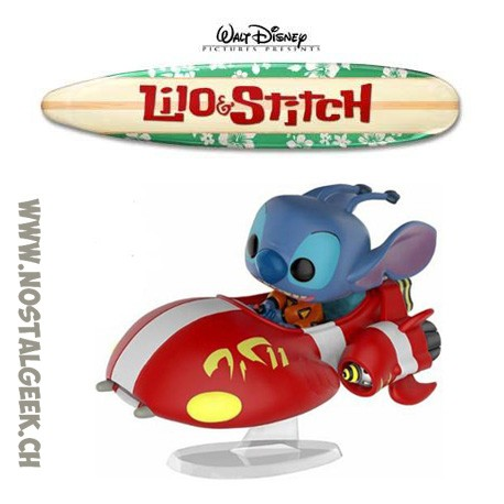 Funko Pop Rides Disney Lilo & Stitch - The Red One Exclusive Vinyl Figure