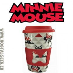 Travel Ceramic Mug Disney Minnie Mousse