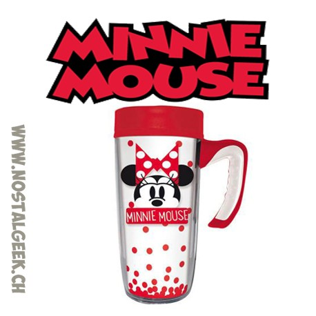 Travel Ceramic Mug Disney Minnie Mousse 500ml