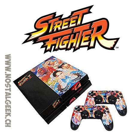 Street Fighter Classic PS4 Console Skin