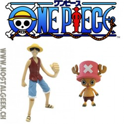 One piece Luffy et Chopper pack 2 figures 12 cm.