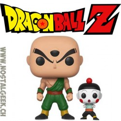 Funko Pop Dragon Ball Z Tien and Chiaotzu Vinyl Figure