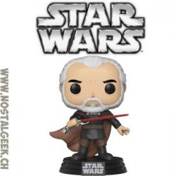 Funko Pop Star Wars Count Dooku Edition Limitée