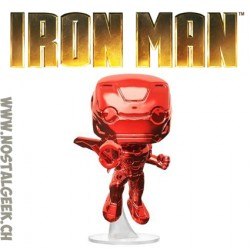 Funko Pop Marvel Avengers Infinity War Iron Man (Red Chrome) Exclusive Vinyl Figure