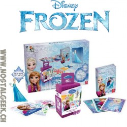 Disney Frozen Gift Box 2 games + Elsa Figure