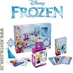 Disney Reine des neiges Coffret Cadeau 2 jeux + Figurine