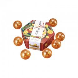 Figurine Dragon Ball - Lot de 7 boules de cristal- Japanese Winter Gift Style