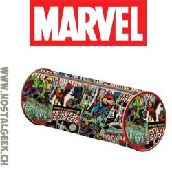 Marvel Pencil Case Comics Vintage